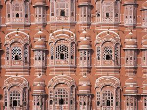 Hawa Mahal (Palace of Winds), Jaipur, Rajasthan, India by Keren Su