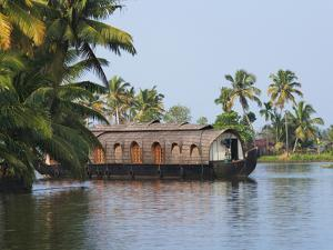 Houseboat on the Backwaters of Kerala, India by Keren Su