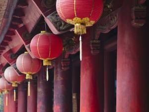 Inside Literature Temple, Vietnam by Keren Su