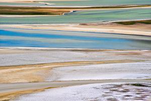 Laguna Salar de Talar, San Pedro de Atacama, Antofagasta Region, Chile. by Keren Su