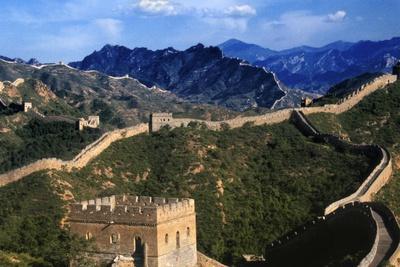 Landscape of Great Wall, Jinshanling, China