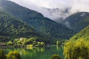 Landscape of Pilva River, Jajce, Bosnia. by Keren Su