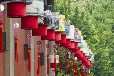 Lantern decoration during the Chinese Lantern Festival, Taipei, Taiwan by Keren Su
