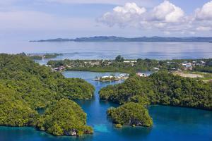 Malakal Harbor, Palau by Keren Su