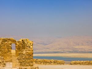 Masada Ruins, Dead Sea, Israel by Keren Su