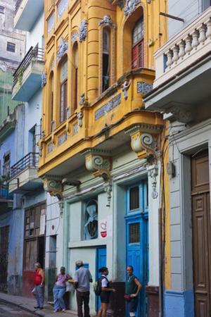 Old House in the Historic Center, Havana, UNESCO World Heritage Site, Cuba by Keren Su