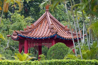 Pavilion inside Shilin Official Residence, Taipei, Taiwan by Keren Su