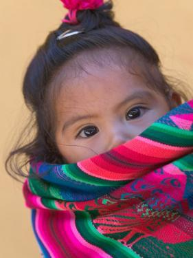 Portrait of a Young Indian Girl, Cusco, Peru by Keren Su