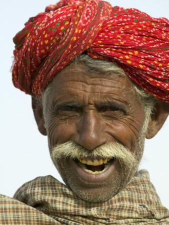 Portrait of an Old Man by Keren Su