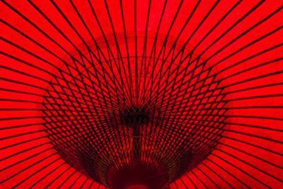 Red umbrella, Gifu, Japan by Keren Su
