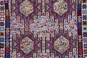 Tapestry, Tbilisi, Georgia. by Keren Su
