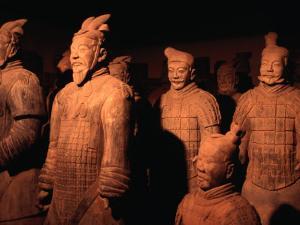 Terracotta Warriors of Xi'an, Xi'an, China by Keren Su
