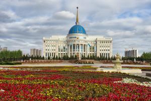 The Ak Orda Presidential Palace, Astana, Kazakhstan by Keren Su