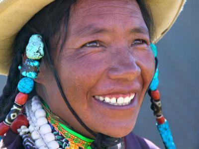 Tibetan Girl, Tibet, China by Keren Su