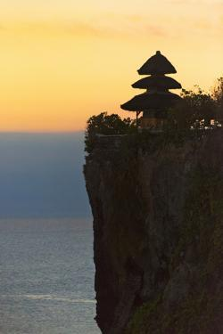 Uluwatu Temple on the Cliff, Bali Island, Indonesia by Keren Su