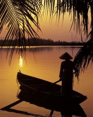 Vietnam, Cantho on the Mekong River by Keren Su