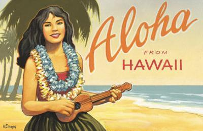 Aloha from Hawaii by Kerne Erickson
