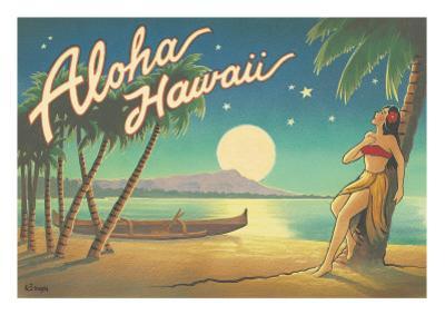 Aloha Hawaii by Kerne Erickson