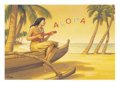 Aloha Serenade by Kerne Erickson