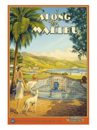Along the Malibu by Kerne Erickson