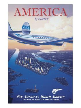 America by Clipper by Kerne Erickson