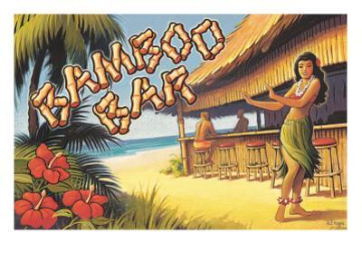Bamboo Bar, Hawaii by Kerne Erickson