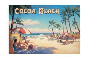 Cocoa Beach by Kerne Erickson