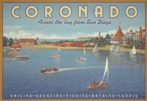 Coronado Beach by Kerne Erickson