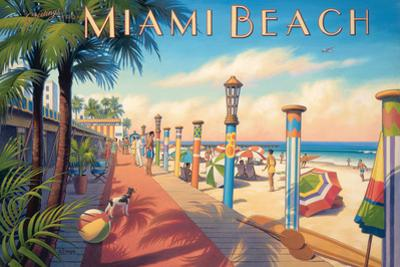 Greetings from Miami Beach by Kerne Erickson
