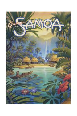 Greetings from Samoa by Kerne Erickson