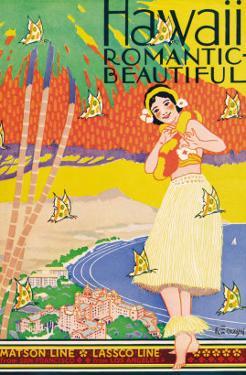Hawaii, Romantic and Beautiful by Kerne Erickson