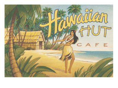 Hawaiian Hut Cafe by Kerne Erickson