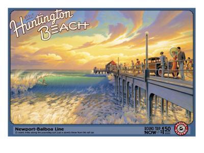 Huntington Beach by Kerne Erickson