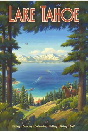 Lake Tahoe by Kerne Erickson