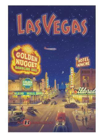 Las Vegas, Nevada by Kerne Erickson