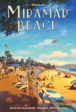 Miramar Beach, Montecitos by Kerne Erickson