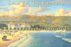 Potter Hotel Santa Barbara by Kerne Erickson