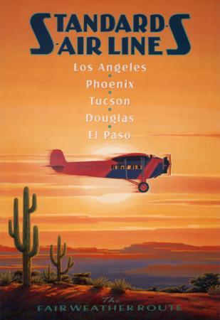 Standard Airlines, El Paso, Texas by Kerne Erickson
