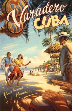 Varadero, Cuba by Kerne Erickson