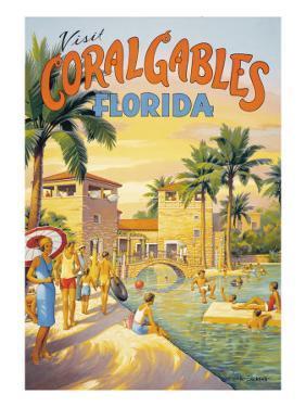 Visit Coral Gables, Florida by Kerne Erickson