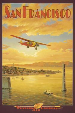 Western Air Express, San Francisco, California by Kerne Erickson