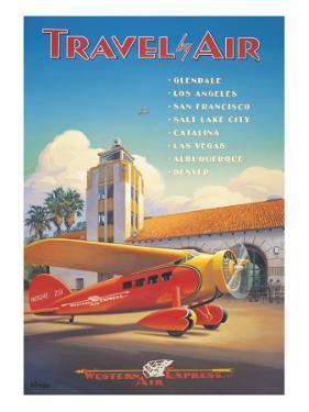 Western Air Express by Kerne Erickson