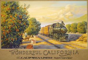 Wonderful Califonia by Kerne Erickson