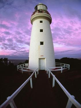Cape Otway Lighthouse at sunrise by Kerrick James