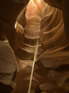 Sunbeam in Antelope Canyon by Kerrick James