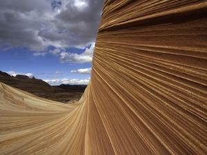 The Wave sandstone formation in Coyote Buttes by Kerrick James