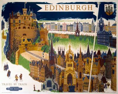 Edinburgh, BR (ScR), c.1948-1965 by Kerry Lee