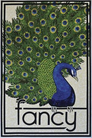 Fancy Peacock by Kestrel Michaud