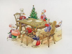 Duck's Christmas, 1999 by Kestutis Kasparavicius