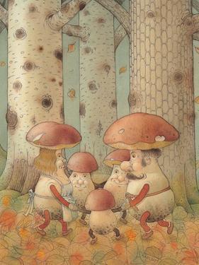 Mushrooms, 2005 by Kestutis Kasparavicius